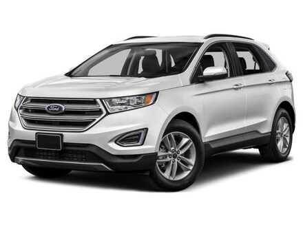 2016 Ford Edge Titanium All-Wheel Drive with Locking and Limited-Slip Diff