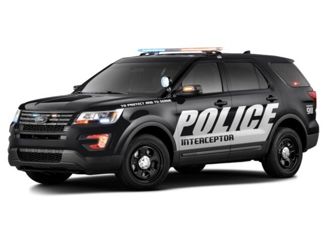 2016 Ford Utility Police Interceptor AWD