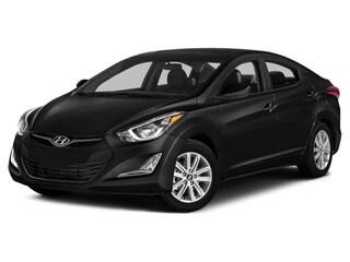 2016 Hyundai Elantra Limited w/PZEV Sedan Black Diamond
