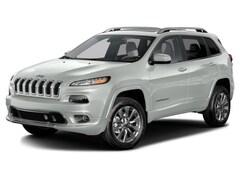 2016 Jeep Cherokee Overland 4x4 SUV