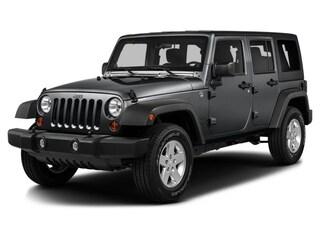 2016 Jeep Wrangler Unlimited Sport 4x4 SUV