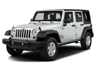 Certified Pre-Owned 2016 Jeep Wrangler JK Unlimited Sport 4X4 SUV Tucson