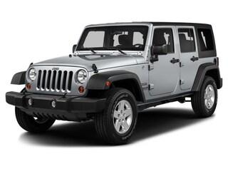 2016 Jeep Wrangler JK Unlimited 4WD 4dr Sahara SUV