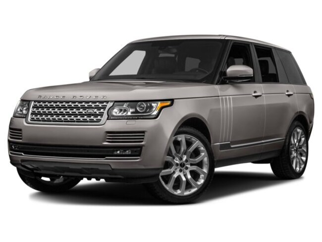 2016 Land Rover Range Rover Supercharged AWD Supercharged  SUV