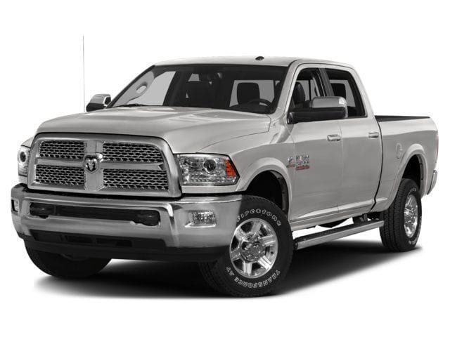 Featured Pre-Owned 2016 Ram 2500 Longhorn Truck Crew Cab for sale in Rutland, VT at Brileya's Chrysler Jeep