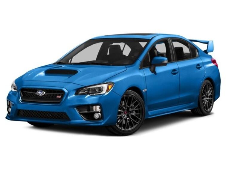 Certified Used 2016 Subaru WRX STI Series.HyperBlue Sedan In Green Bay