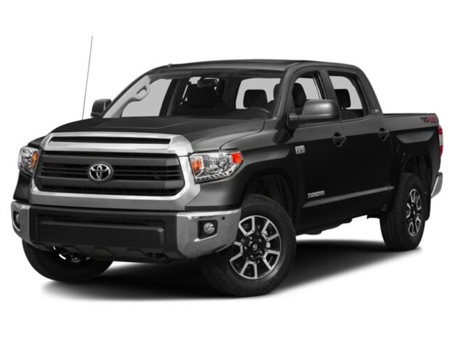 2016 Toyota Tundra 2WD Crewmax 4.6L V8 6-Spd AT SR5 Crew Cab Pickup