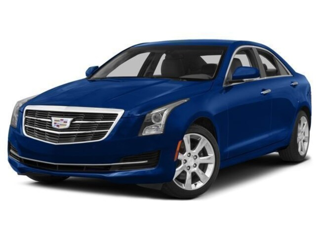 2017 Cadillac ATS Sedan Luxury AWD 4dr Car