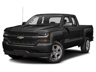 2017 Chevrolet Silverado 1500 4WD Double Cab 143.5 Custom Extended Cab Pickup For Sale in Westport, MA