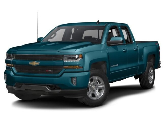 Used 2017 Chevrolet Silverado 1500 LT w/1LT Truck Double Cab for Sale in Plymouth, IN at Auto Park Buick GMC