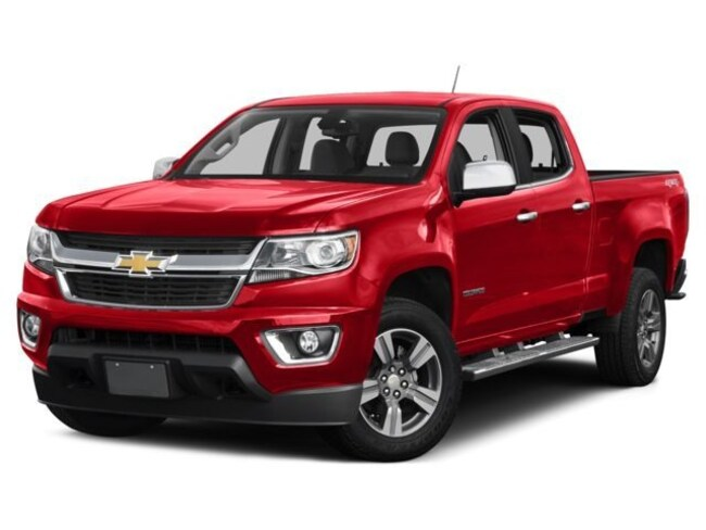 2017 Chevrolet Colorado LT Crew Cab Short Bed Truck