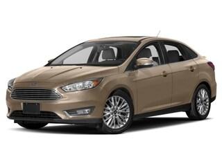 Certified Pre-Owned 2017 Ford Focus Titanium Sedan Salt Lake City