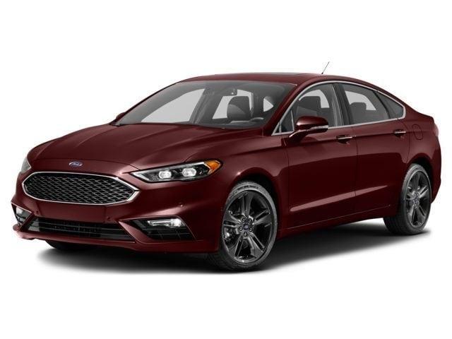 2017 Ford Fusion Titanium FWD sedan