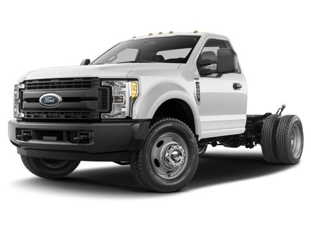 2017 Ford F-350 Chassis Eby Flat bed, Western V plow, & VMAC Air Compresso Truck Regular Cab
