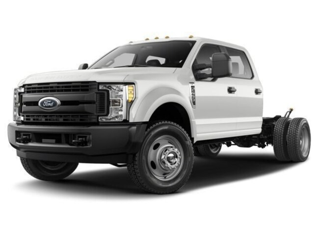 Used 2017 Ford F-450 Chassis XL 4WD Crew Cab 179 WB 60 CA Truck Crew Cab for sale in Savannah, GA