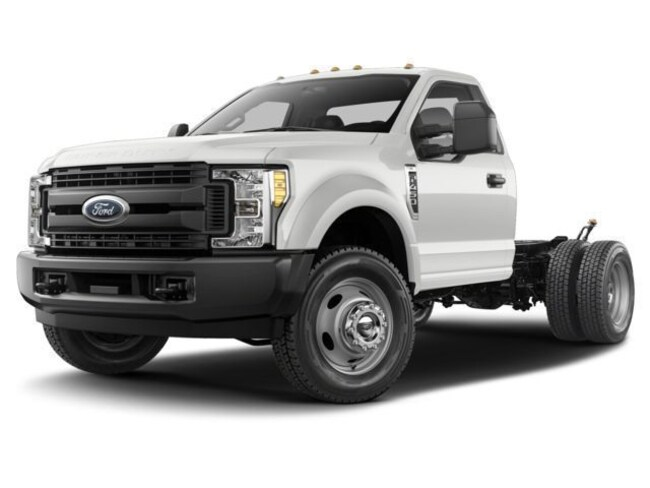 2017 Ford Super Duty F-550 DRW Truck Regular Cab