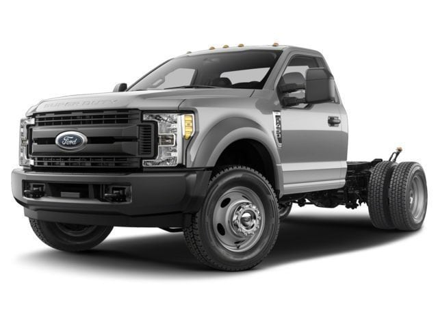 2017 Ford F-550 Chassis Regular Cab XL 4 Wheel Drive Chassis