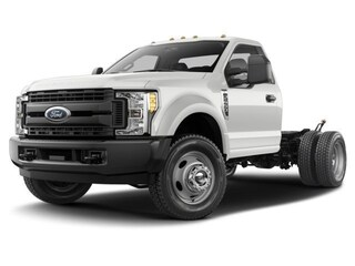 2017 Ford Super Duty F-550 DRW XL 4WD Reg Cab 145 WB 60 CA Regular Cab Chassis-Cab