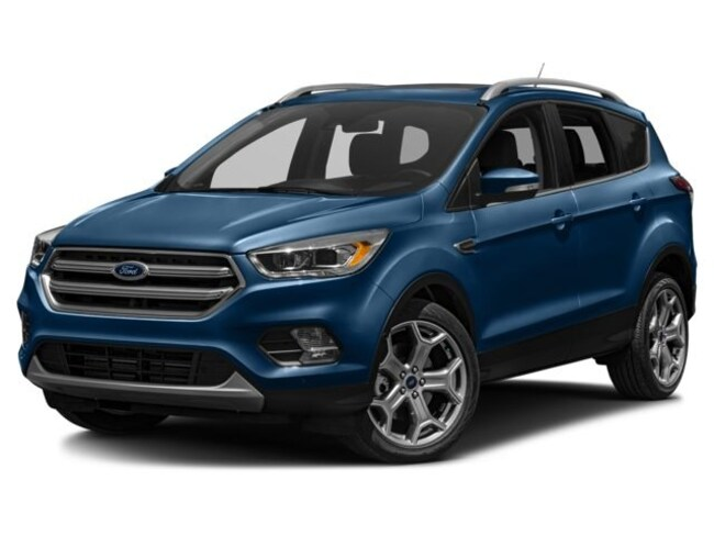 Certified Used 2017 Ford Escape Titanium SUV in Osseo, WI
