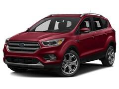 Certified  2017 Ford Escape Titanium SUV in Helena, MT