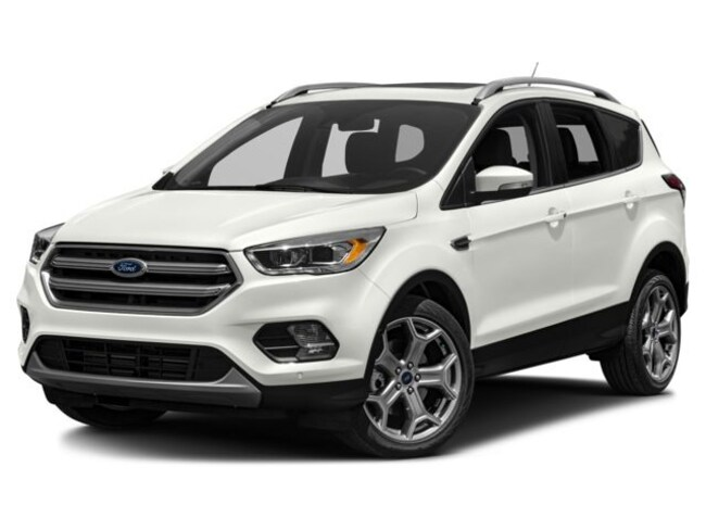 Used 2017 Ford Escape Titanium SUV for sale in Wheeling, WV near St. Clairsville OH