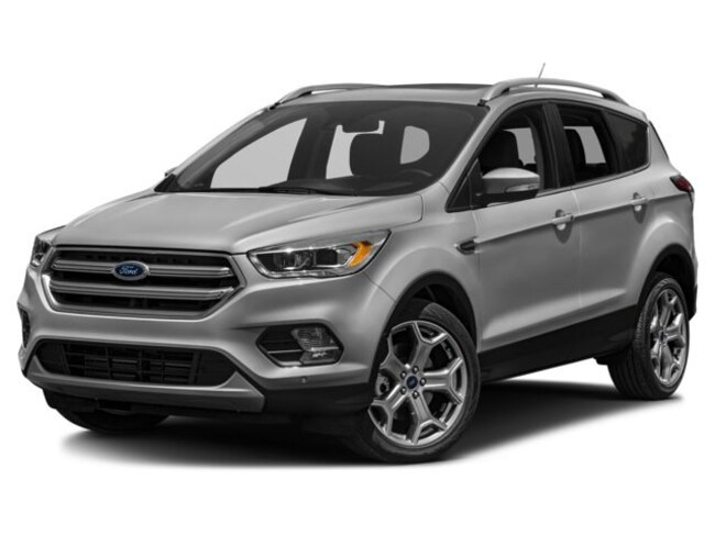 Used 2017 Ford Escape Titanium SUV for sale in Whitehall WV