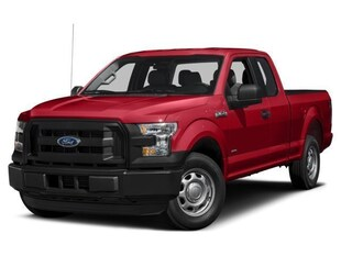 2017 Ford F-150 EXTENDED CAB SHORT BED TRUCK