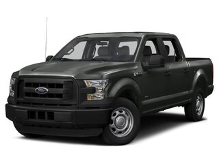 2017 Ford F-150 XLT 4x4 Truck SuperCrew Cab
