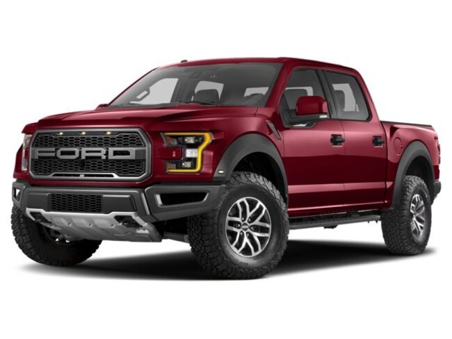 2017 Ford F-150 Raptor Truck SuperCrew Cab