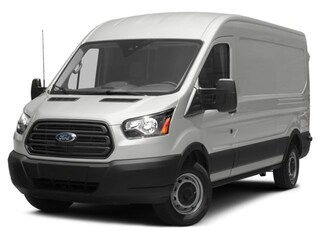 2017 Ford Transit-150 w/Sliding Pass-Side Cargo-Door Van Medium Roof Cargo Van
