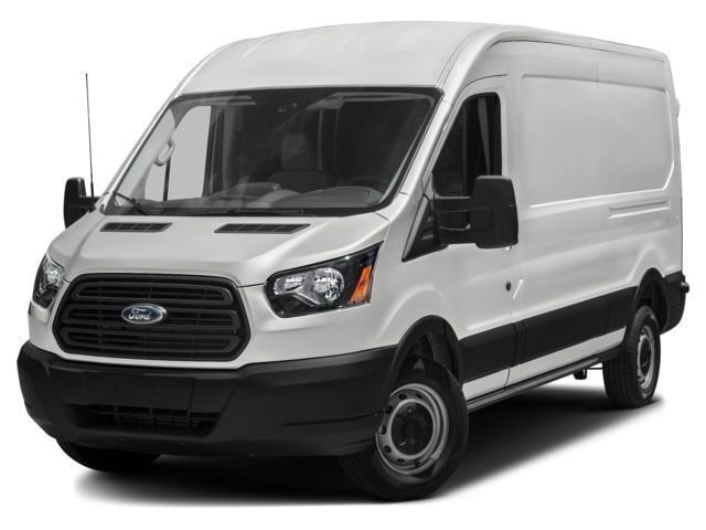 2017 Ford Transit-250 w/Sliding Pass-Side Cargo-Door Van Medium Roof Cargo Van