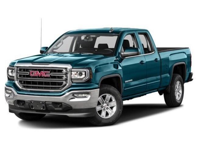 Used 2017 GMC Sierra 1500 SLT Truck Double Cab in Manchester, NH