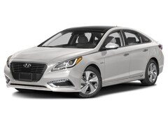 2017 Hyundai Sonata Hybrid Limited w/Blue Pearl Interior Sedan