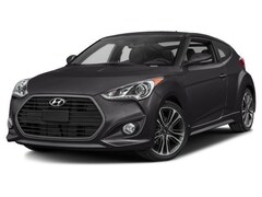 2017 Hyundai Veloster Turbo w/Orange Accent Hatchback