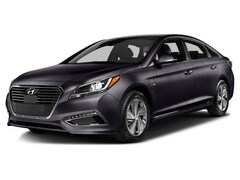 2017 Hyundai Sonata Plug-In Hybrid Limited w/Blue Pearl Interior Sedan