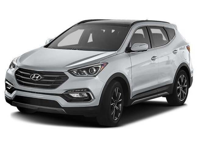 Used 2017 Hyundai Santa Fe Sport 2.0L Turbo Ultimate SUV for sale in Fort Wayne, Indiana