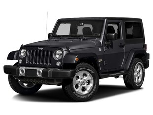 2017 Jeep Wrangler Sahara 4x4 SUV