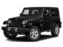 2017 Jeep Wrangler JK SAHARA 4X4 Sport Utility