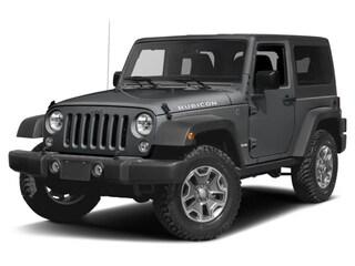 New 2017 Jeep Wrangler Rubicon SUV in Burlingame