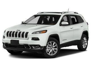 Certified Pre-Owned 2017 Jeep Cherokee Limited 4x4 SUV for sale in Falmouth, Cape Cod, MA
