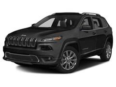 2017 Jeep Cherokee Overland 4x4 SUV