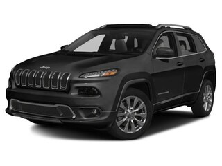 New Chrysler Dodge Jeep Ram Models 2017 Jeep Cherokee Overland SUV Brattleboro, VT