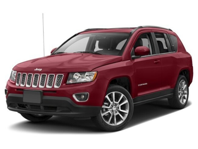 2017 Jeep Compass High Altitude High Altitude 4x4 *Ltd Avail* [TRA, ED3, WFC, DA4, XAC, RHB, SLDV, 23P, PRP] Deep Cherry Red Crystal Pearlcoat in Lawrenceville
