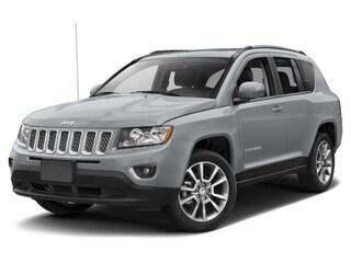 Used 2017 Jeep Compass Latitude 4x4 SUV 1C4NJDEB9HD190115 J181632A in Brunswick, OH