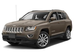 Certified Pre-Owned 2017 Jeep Compass Latitude 4x4 SUV