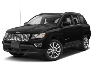 Used 2017 Jeep Compass Latitude 4x4 SUV 1C4NJDEB6HD126601 D181051A in Brunswick, OH