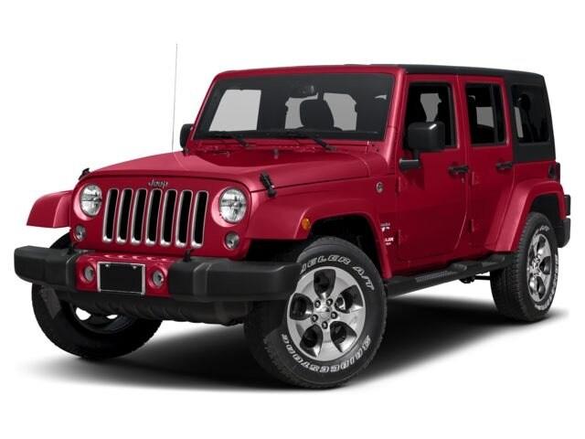 New 2017 Jeep Wrangler Unlimited Sahara 4x4 SUV near Tampa, FL