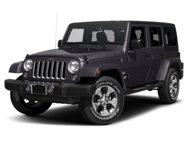 2017 Jeep Wrangler Unlimited Sahara 4x4 SUV