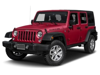 New 2017 Jeep Wrangler Unlimited Rubicon 4x4 SUV 4x4 Tucson
