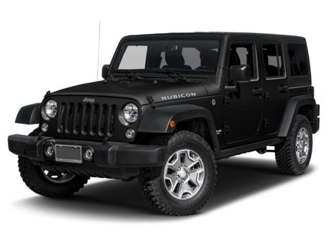 New 2017 Jeep Wrangler JK UNLIMITED RUBICON 4X4 For Sale | Hopkins